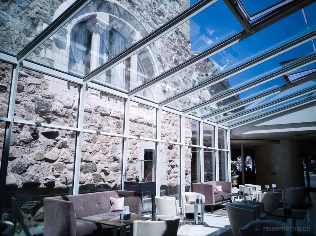 Hotellobby Château d'Ouchy