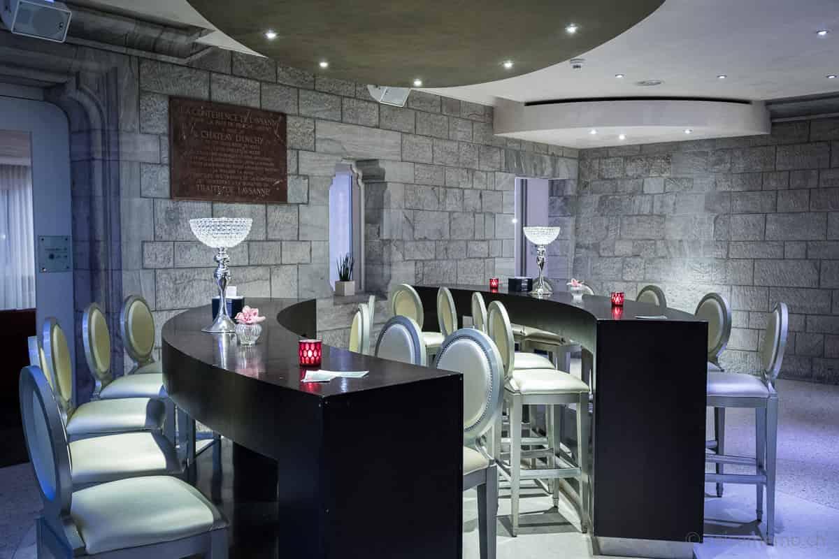 Hotelbar und Lounge Château d'Ouchy