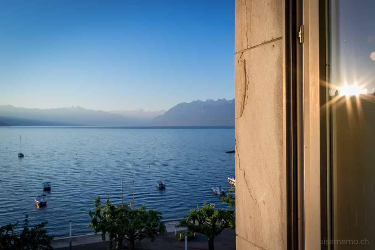Sonnenaufgang über dem Genfersee
