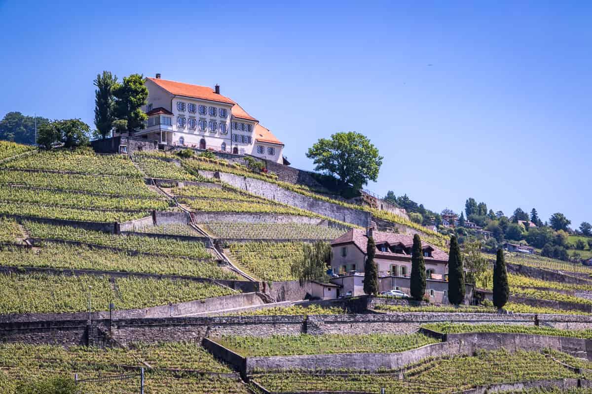 Château de Montagny im Lavaux