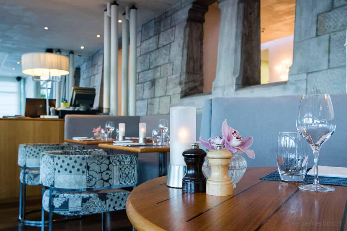 Restaurant im Château d'Ouchy