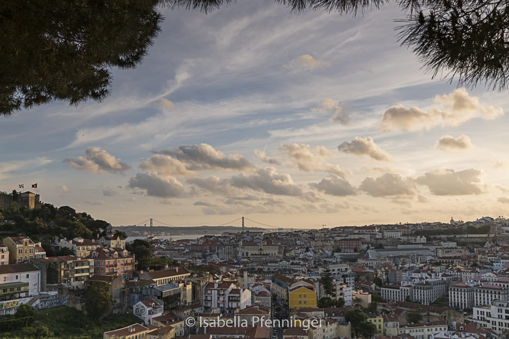Miradouro das Portas in Lissabon