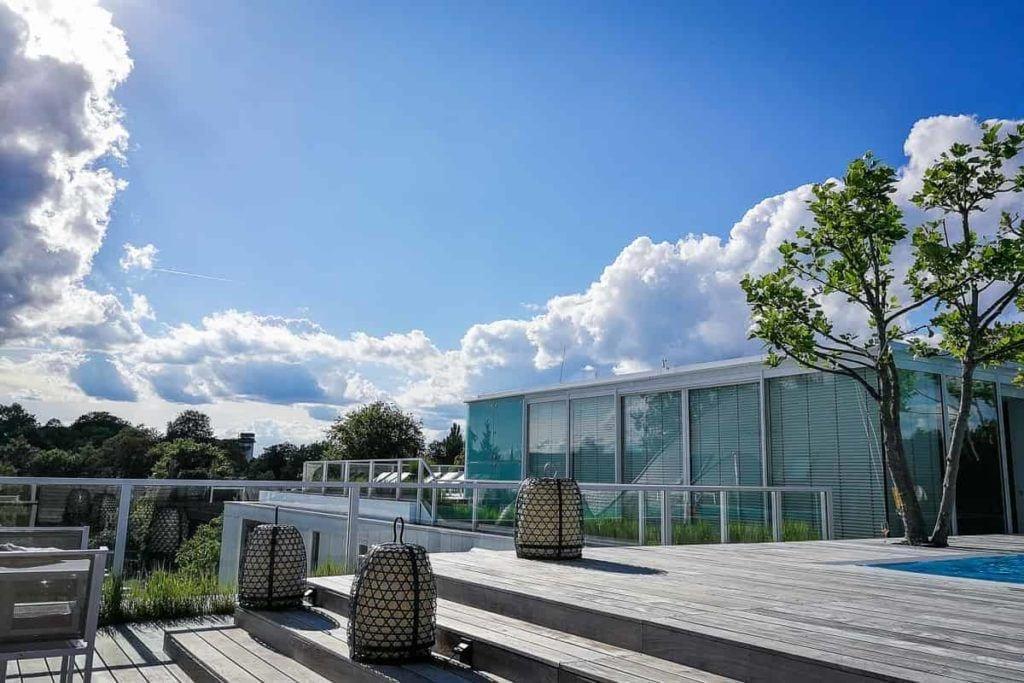 Dachterrasse mit Pool