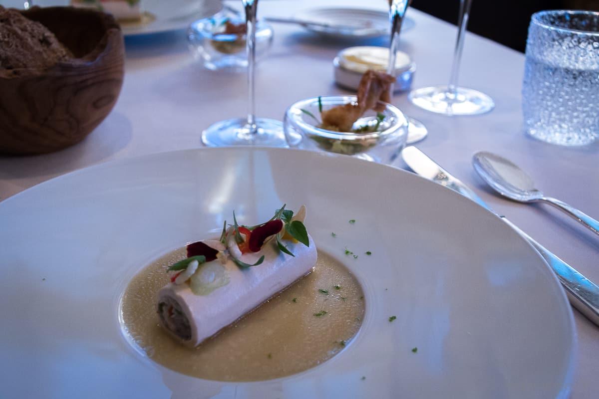 Taschenkrebs mit Chili im Ophelia Gourmet Restaurant