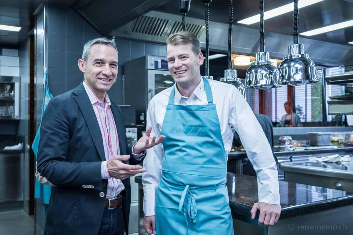 Reiseblogger Walter Schärer erkennt jetzt Küchenchef Dirk Hoberg vom Riva Konstanz