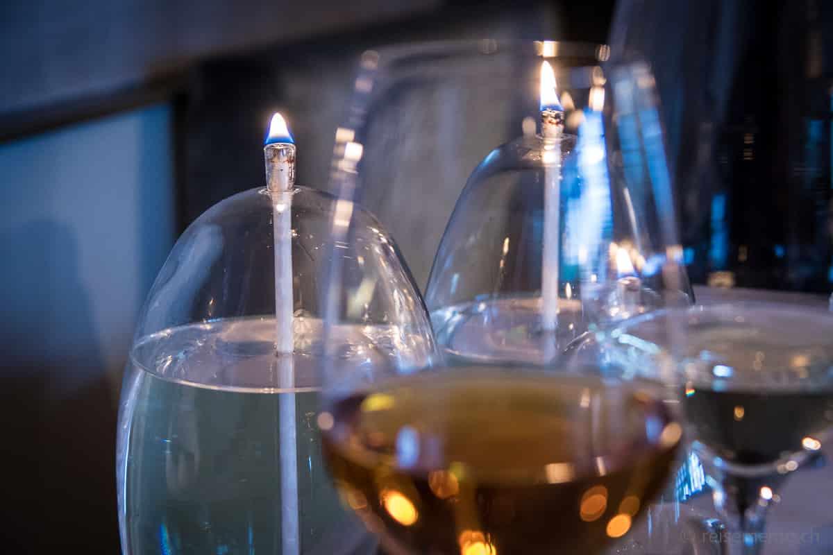 Weinbegleitung von Sommelier Werner Hinze zum Gourmet-Menu von Dirk Hoberg