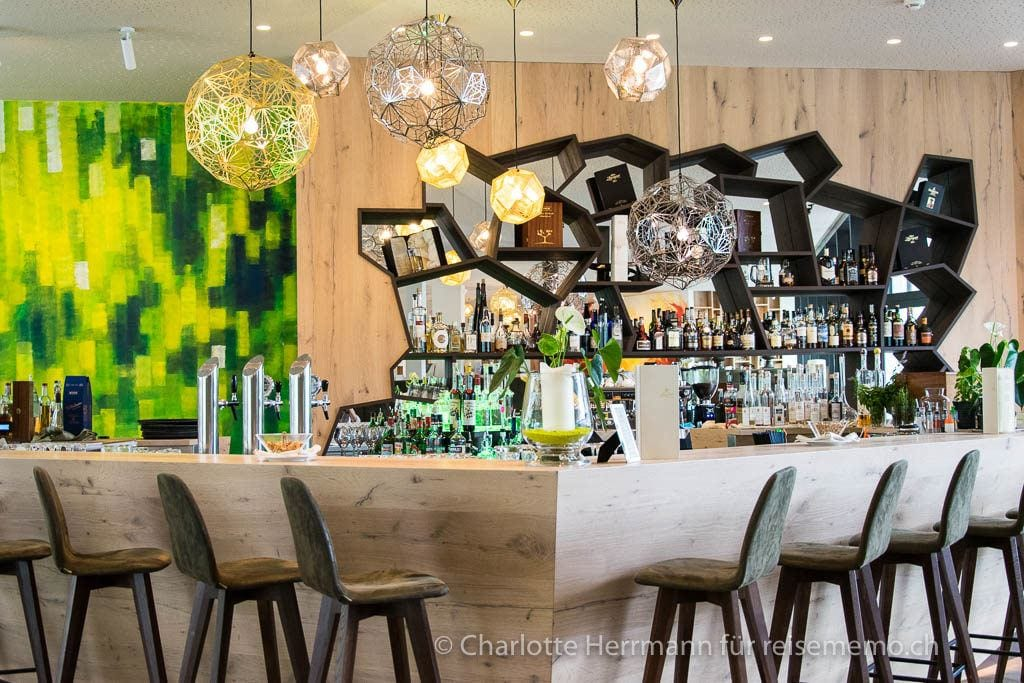Hotelbar des Schenna Resorts