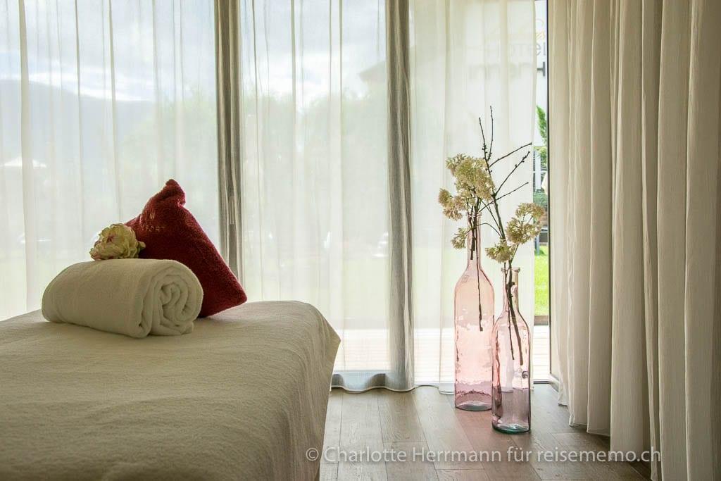 Behandlungsraum für Frauen im Hotel Rosengarten