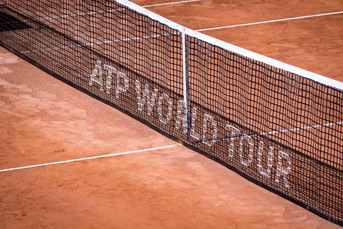 Tennisnetz J. Safra Sarasin Swiss Open Gstaad