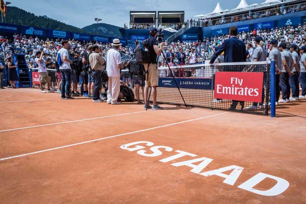 Fotografen bei der Siegerehrung am Swiss Open Gstaad
