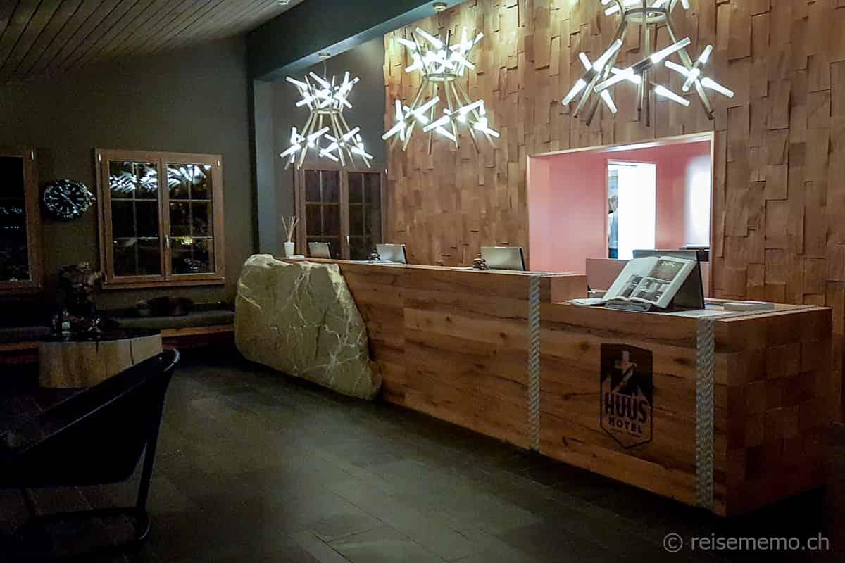 Réception HUUS Gstaad