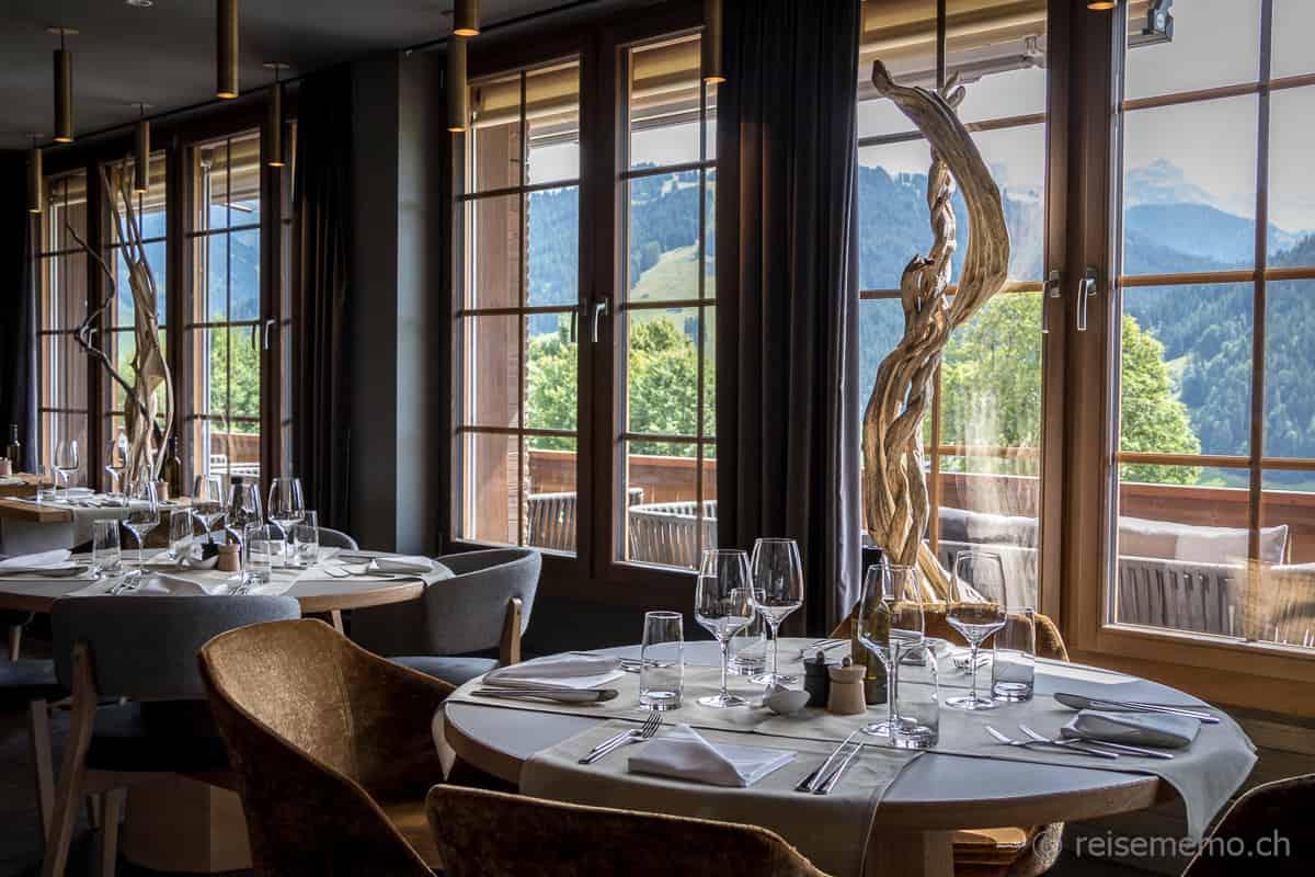 Restaurant La Vue Huus Gstaad