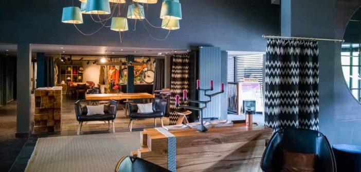 Lobby und Shop Huus Gstaad