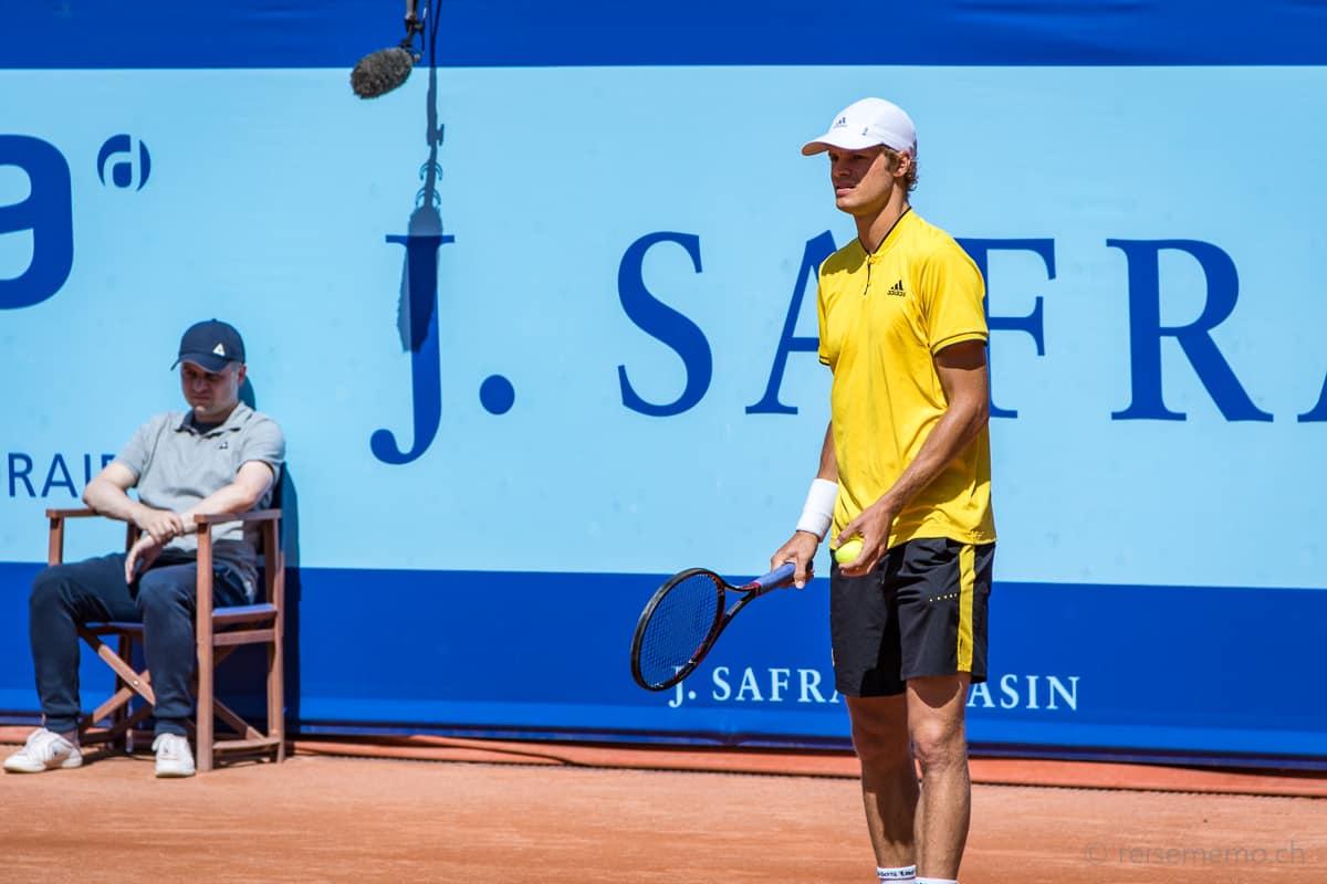 Yannick Hanfmann am J. Safra Sarasin Swiss Open Gstaad