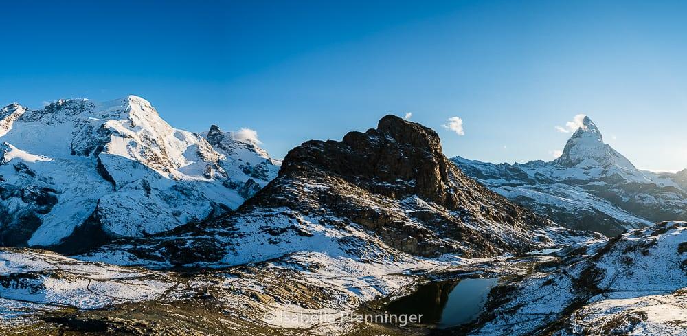 Blick zum Riffelsee Zermatt