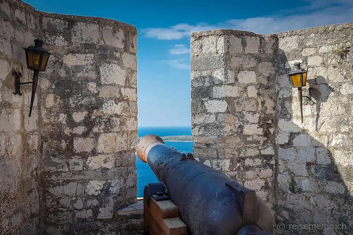 Festung La Španjola Hvar Kroatien