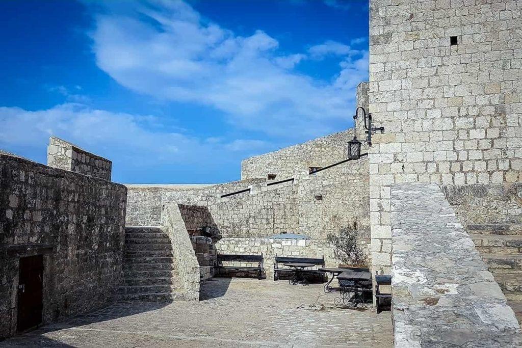 Festung Spanjola Hvar Kroatien