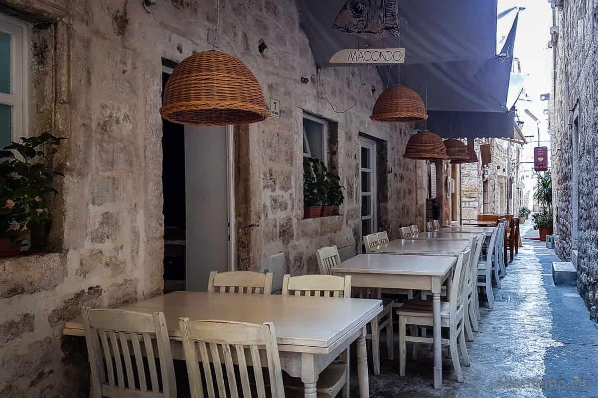 Restaurant Macondo Hvar Kroatien