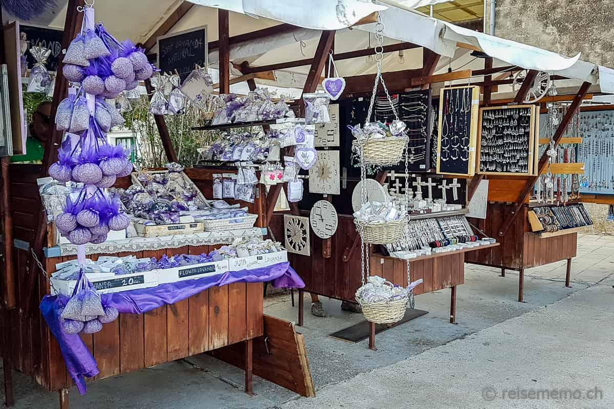 Hvar Kroatien Lavendelblüten