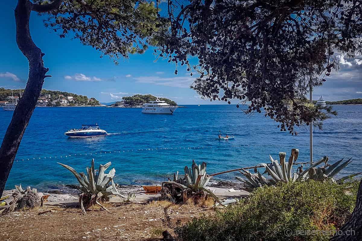 Bucht von Hvar in Kroatien