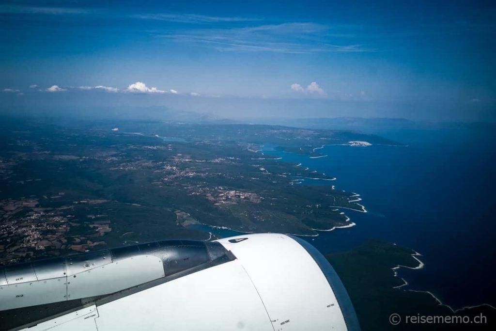 Istriens Küstenlinie bei Pula