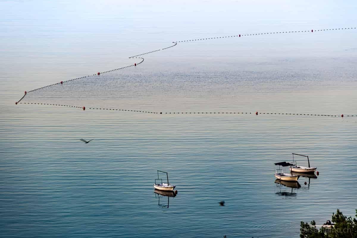 Fischerboote bei Trogir