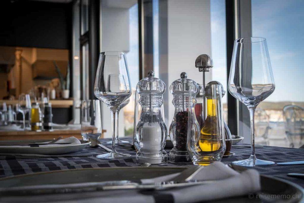 Salz und Pfeffer im Ola Hotel in Trogir