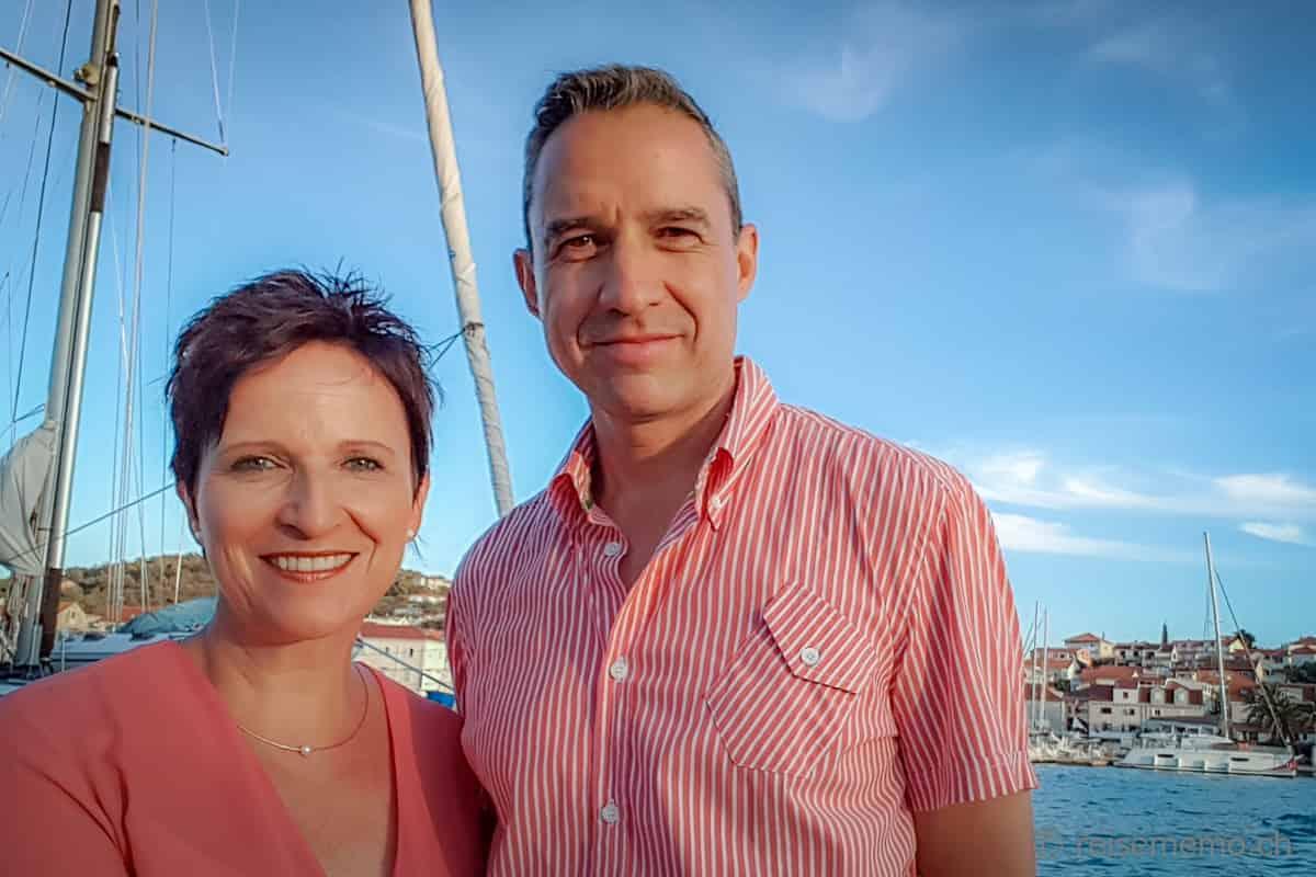Reiseblogger Katja Birrer und Walter Schärer