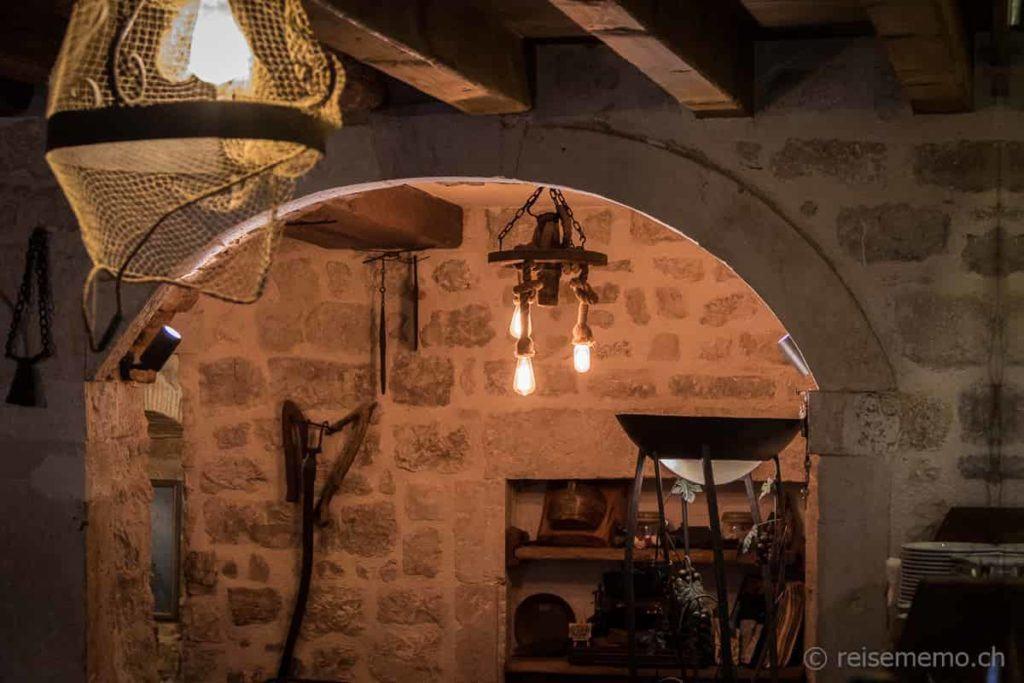 Restaurant-Interieur in Trogir