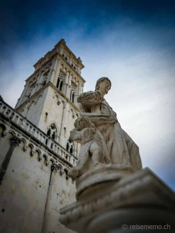 Sankt Lorenz Kathedrale in Trogir