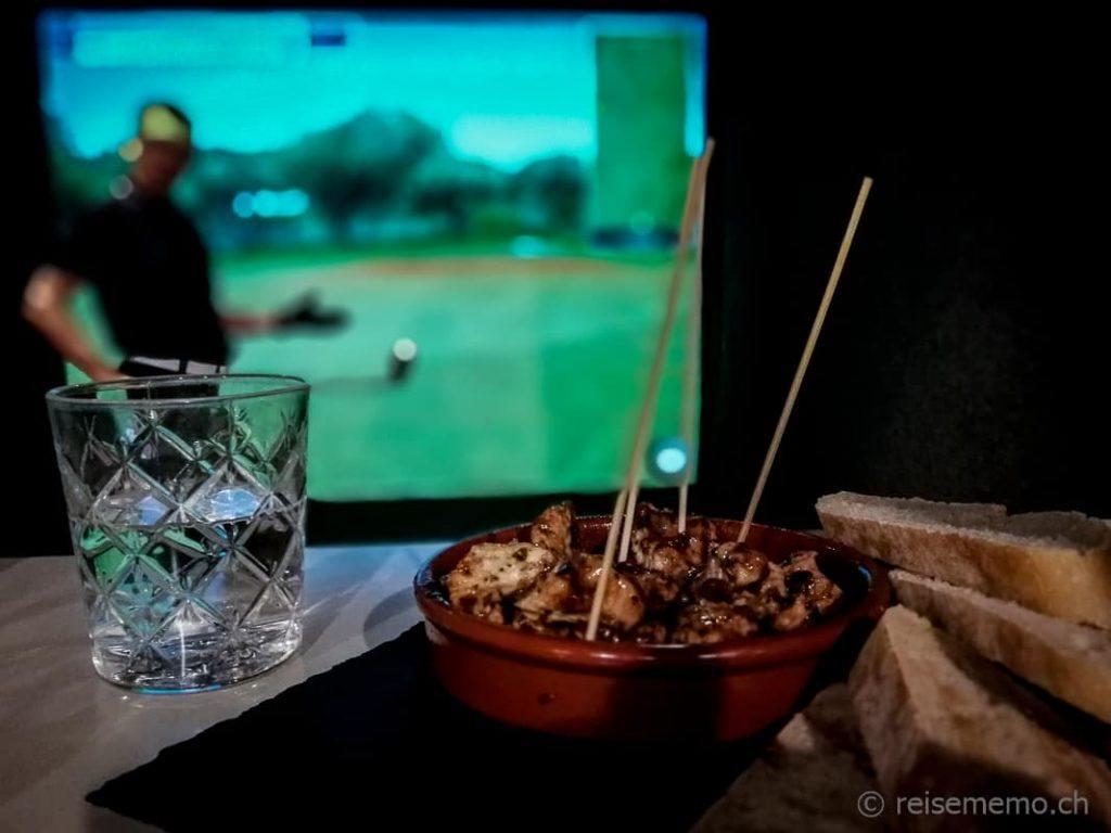 Golf Now Lounge Poulet-Apéro