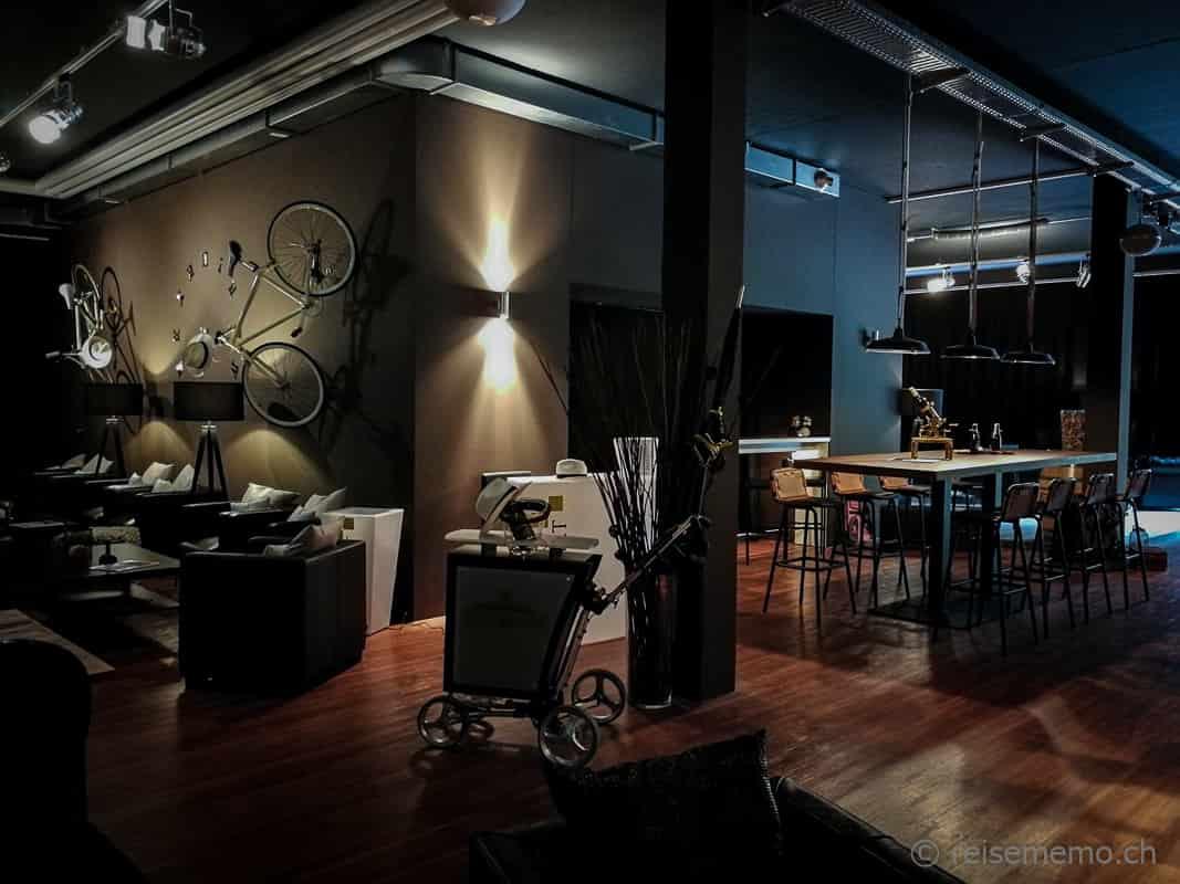 Golf Now Lounge Dekoration