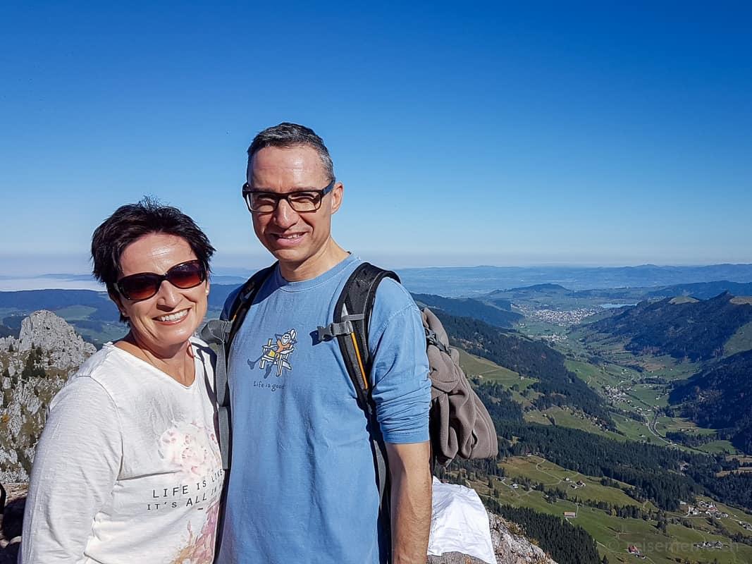 Katja und Walter Wanderung Grosser Mythen