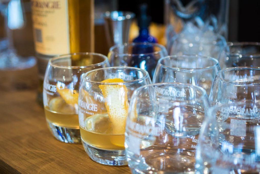Glenmorangie Drinks bei Relais & Châteaux