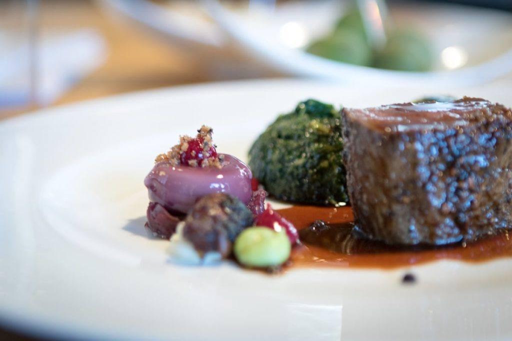 Hauptspeise bei Relais & Châteaux