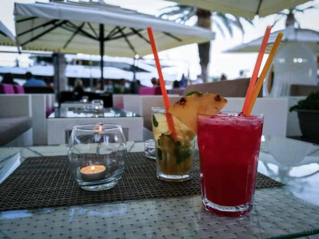 Drinks Karte im Dionis Restaurant in Trogir