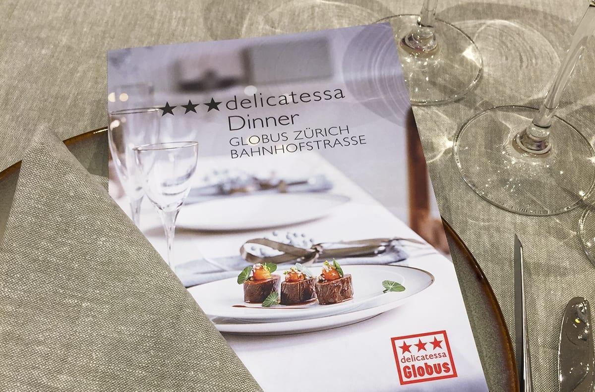 ***delicatessa Dinner GLOBUS ZÜRICH BAHNHOFSTRASSE