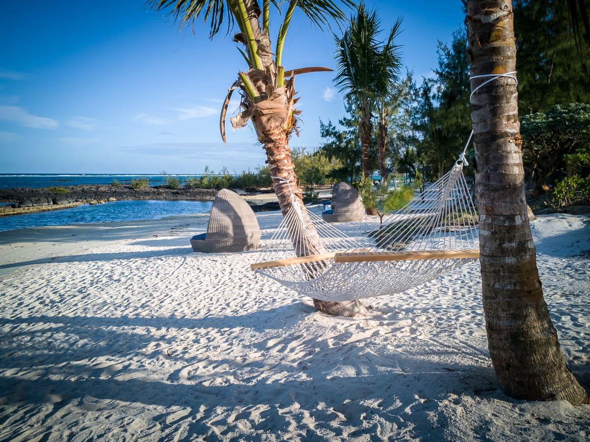 Strand von Long Beach bei Belle Mare Mauritius