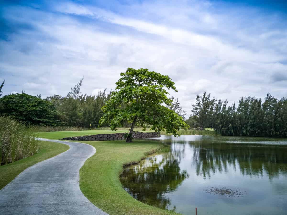 Golfplatz Ile aux Cerfs Mauritius
