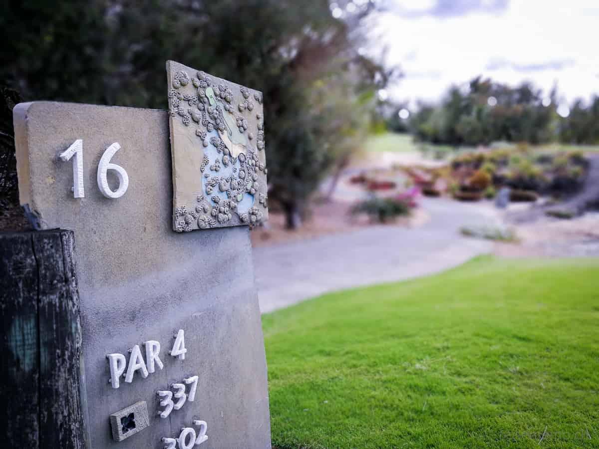 Ile aux Cerfs Golfplatz