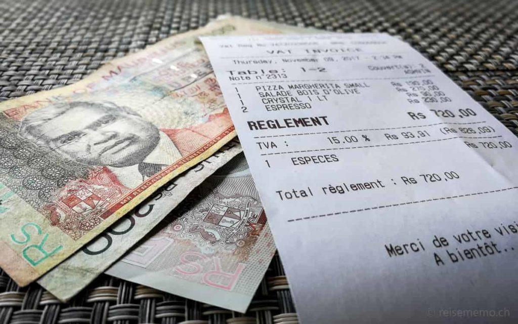 Rupien der Bank von Mauritius