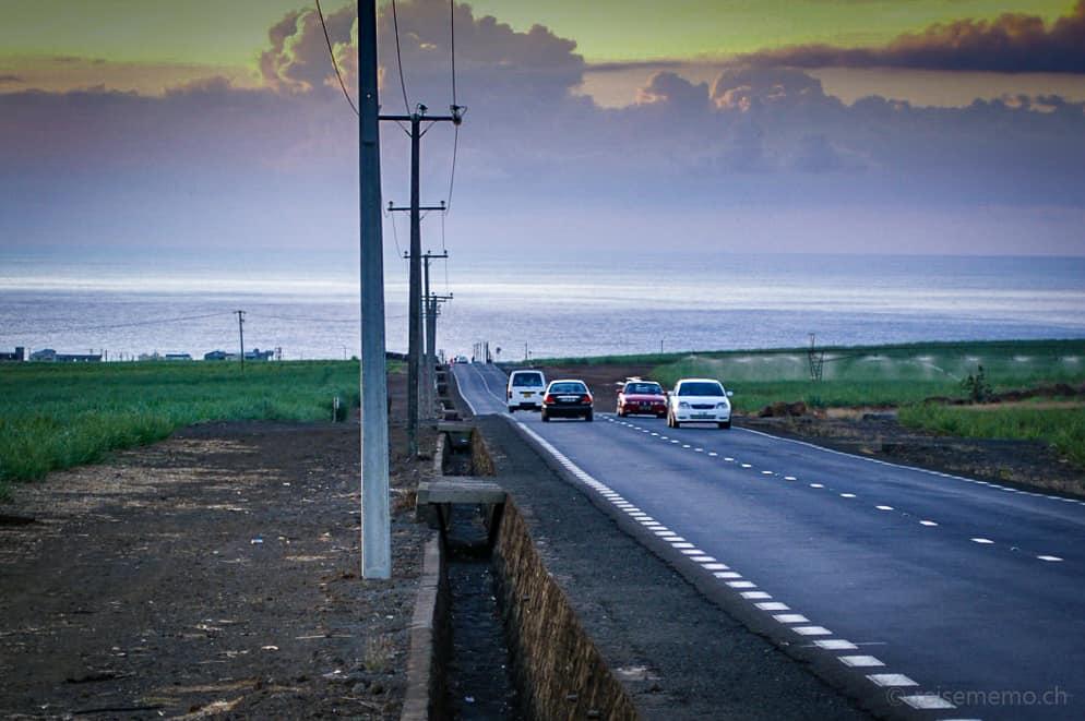Strassengräben auf Mauritius