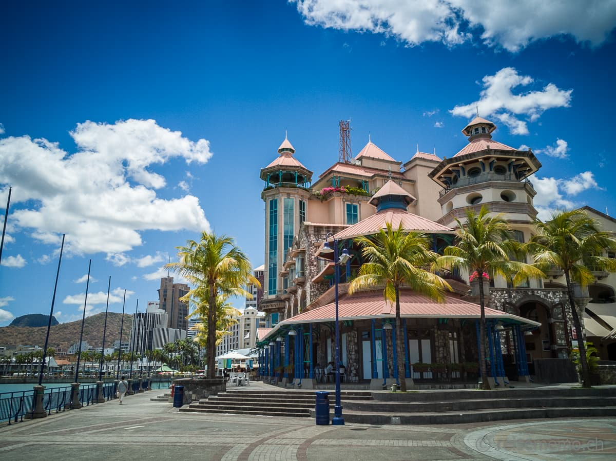 Waterfront Le Caudan Port Louis Mauritius