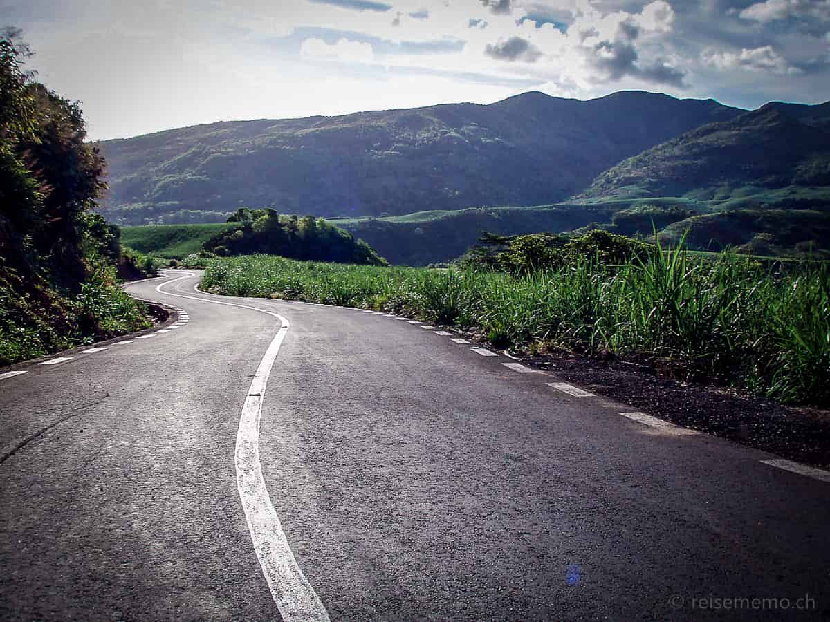 Landstrasse auf Mauritius