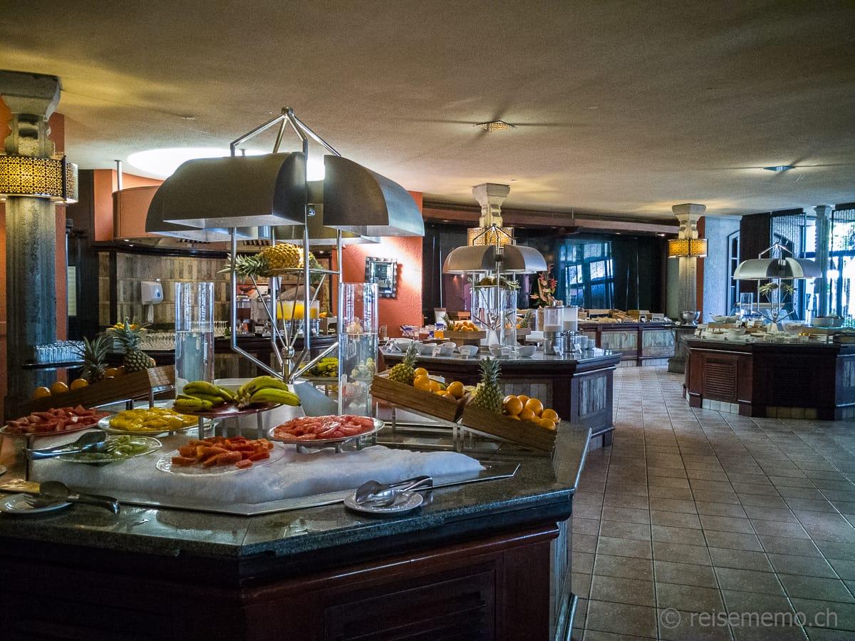 Frühstücksbuffet Dinarobin Beachcomber