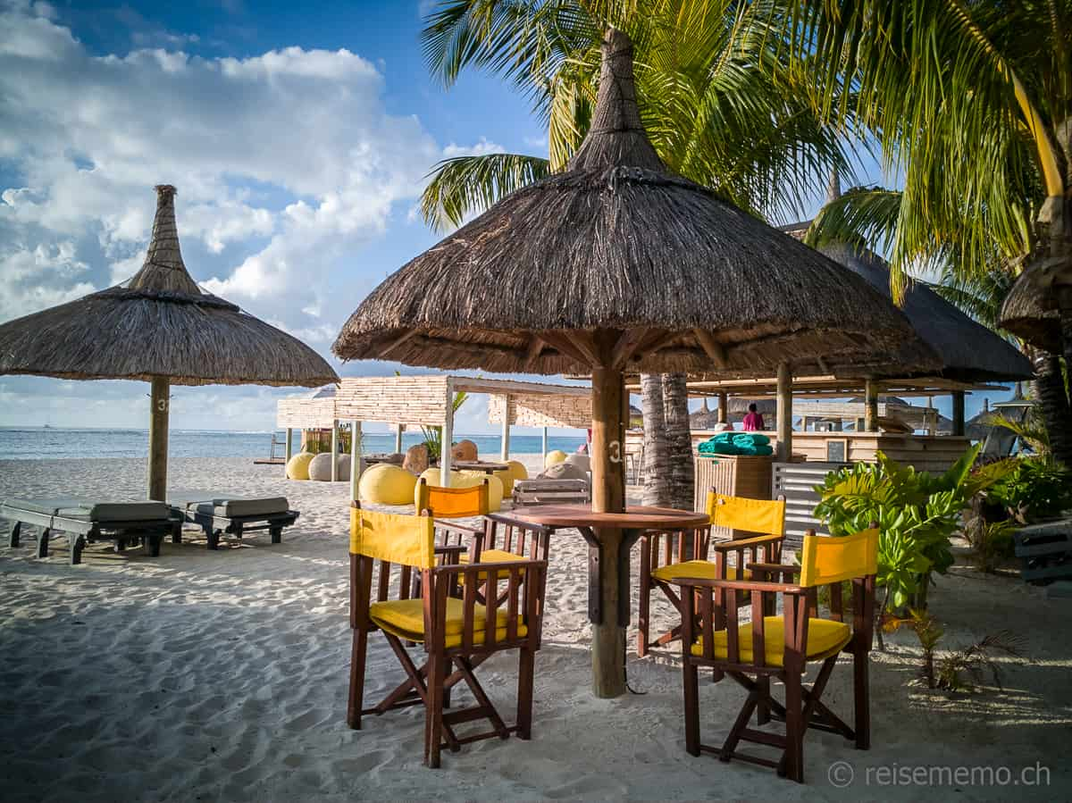 Strand Restaurant Dinarobin Beachcomber
