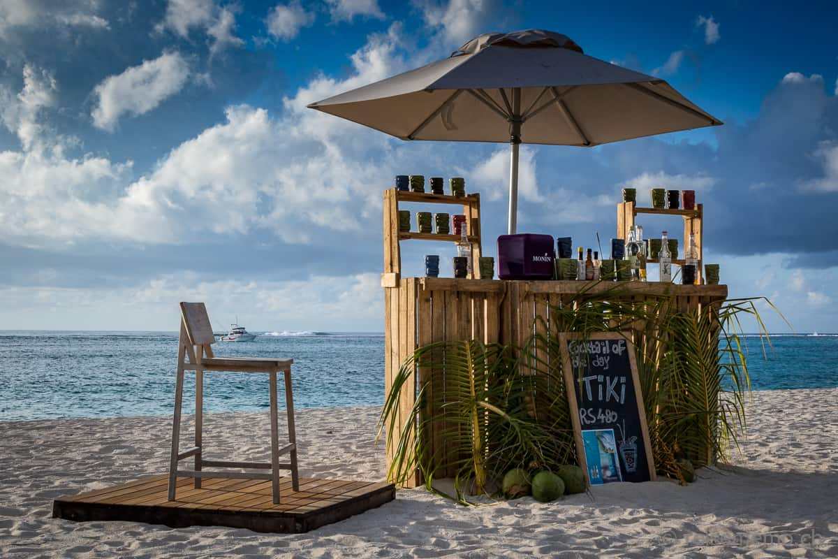 Beach Bar Dinarobin Beachcomber