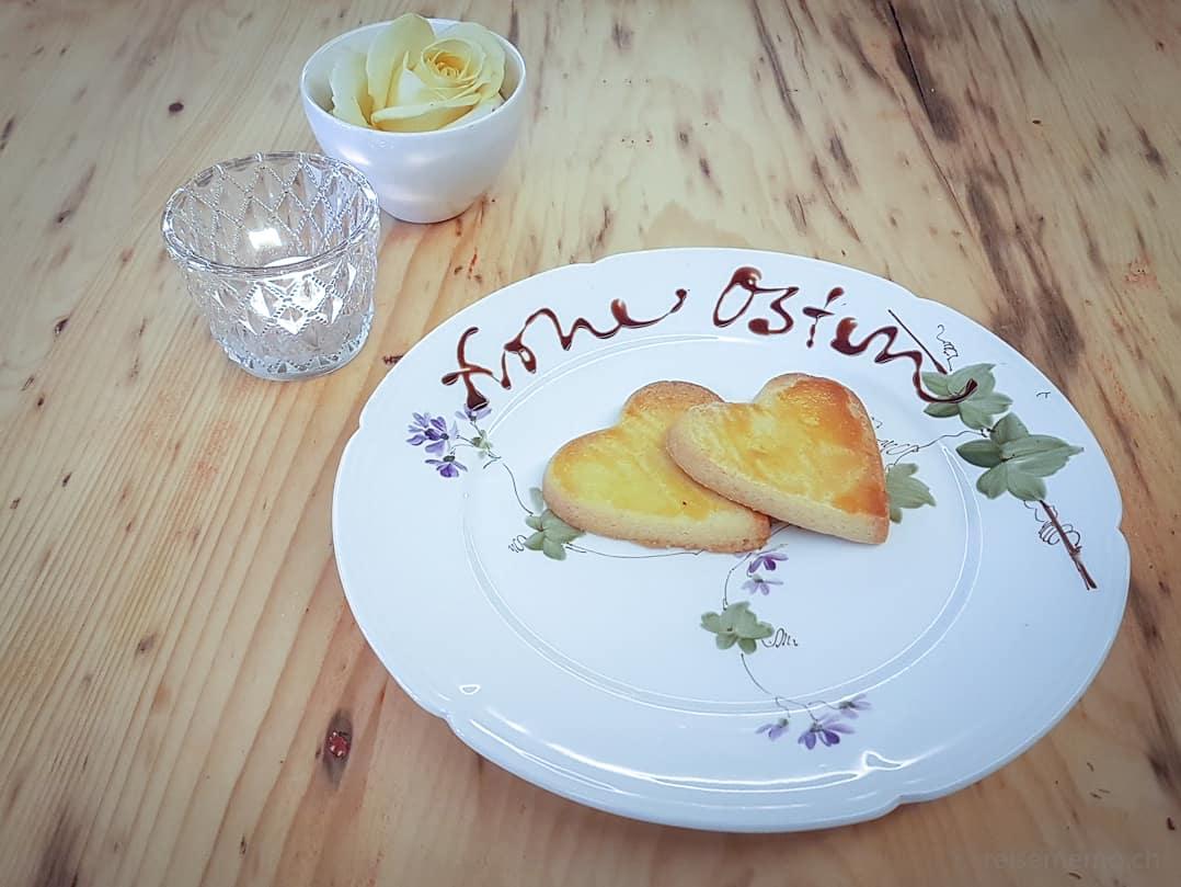 Frohe Ostern Bisquits im KaffeeKlatsch Rapperswil