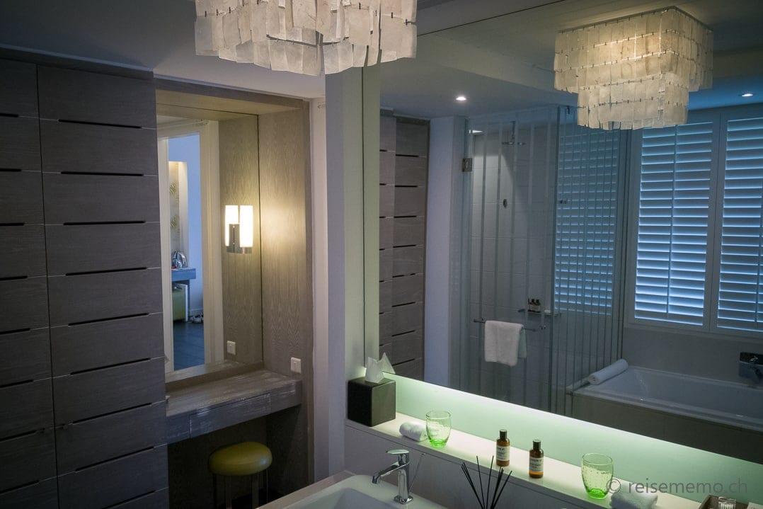 Long Beach Mauritius Badezimmer