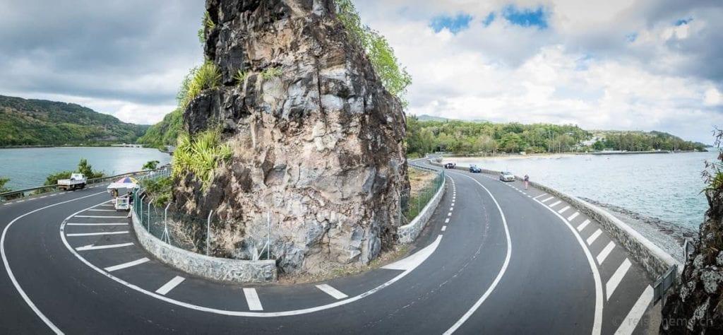 Kurve beim Macondé Aussichtspunkt